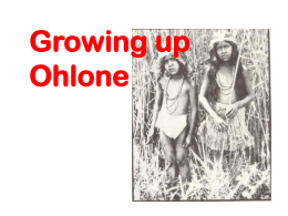 Growing up Ohlone