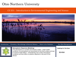 Lecture 27 - Ohio Northern University