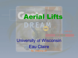 Aerial Lifts - University of Wisconsin