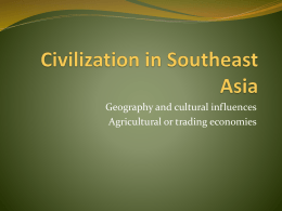 Civilization in Southeast Asia