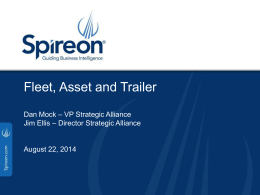 Spireon, Inc. - NPP Government