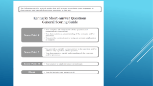 Short answer questions - Campbell County Schools