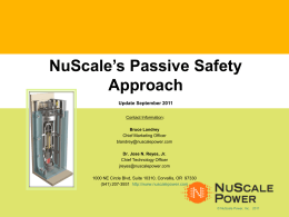 NuScale-Safety