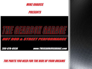 the gearbox garage