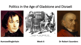 the Age of Gladstone and Disraeli