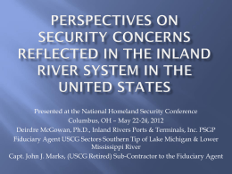Perspectives on Security Concerns Reflected in the Inland River