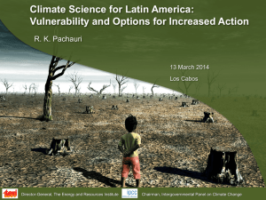 Climate Science for Latin America