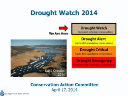 Drought Watch 2014 (Jason Foster)