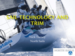 Sail technology and trim - The Cleveland Sailing Association