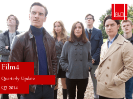 Film 4 Useful Stats