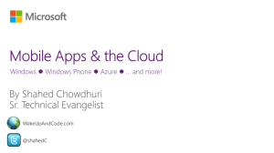 ms-MobileCloudApps-ShahedChowdhuri-UMD-XC