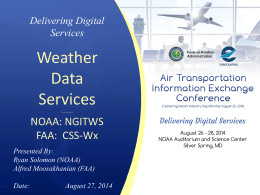 Future Weather Data Services