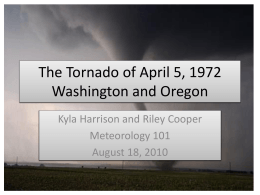 The Tornado of April 5, 1972