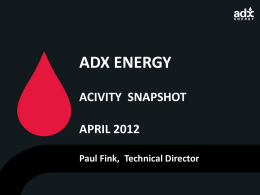 ADX ENERGY - Boerse Express