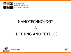 nanotechnology in home furnishings