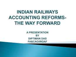 INDIAN ACCOUNTING REFORMS
