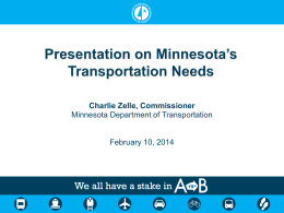 Transportation - Minnesota Senate