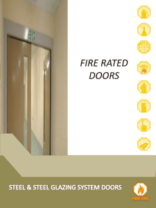 fire rated doors - the Official Website of AZIZ Manufacturing Advance