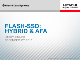 FLASH - Fibre Channel Symposium