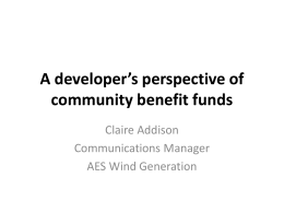 Claire Addison - Foundation Scotland