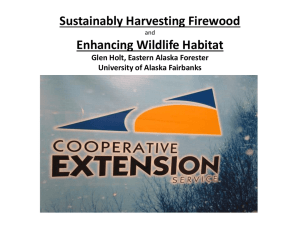Sustainably Harvesting Firewood and Enhancing Habitat