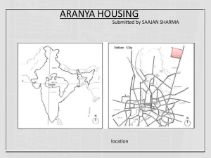 case study- aaryana housing