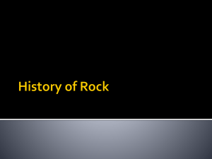 Rock History Power Point