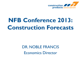 2014 construction forecast