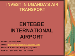 Invest in Ugandas Air Transport Here