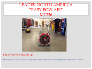 Leader North America *easy Pow*air* Mt236