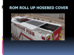 ROM Roll-up Hose Bed Cover.ppt