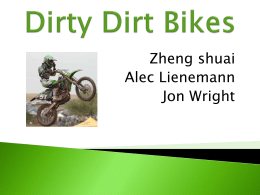 Dirty Dirt Bikes - UW Student Websites