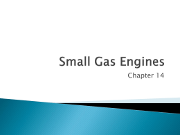 Ch 14- Small Gas Engines