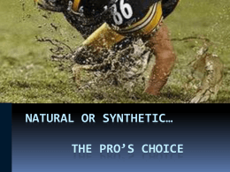 Natural vs Synthetic Turf.