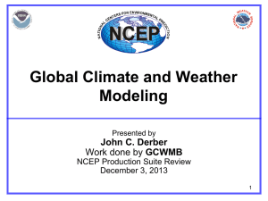 02-Derber_GCWM - Department of Atmospheric and
