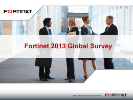Fortinet Update