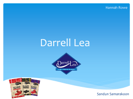 Click here to view Darrell Lea Media Plan
