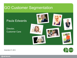 9 - Paula - Application of GO Customer