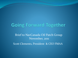 Brief to NavCanada N..