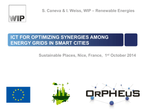 ICT for optimizing synergies among energy grids in smart cities