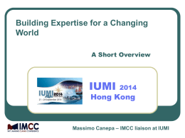 2012/2013 - IMCC - International Marine Claims Conference