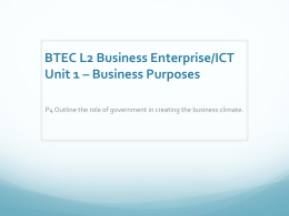 PPT5 Government and business environment p4