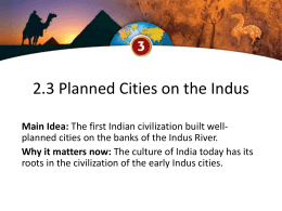 2.3 indus valley civilization