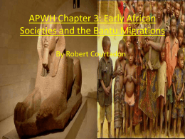 APWH Chapter 3 powerpoint