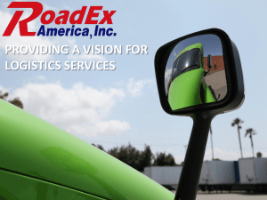 CCSF - RoadEx Cargo Services