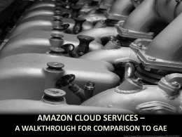 AWS cloud comparison