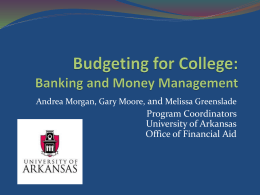 Banking and Money Mangemenet PowerPoint