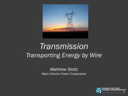 Transmission - Lignite Energy Council