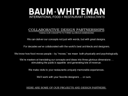 collaborative design partnerships