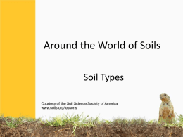 Soils from Around the World